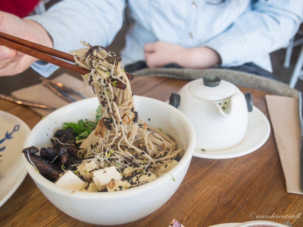 Soba Noodles with Miso, Earl Grey, & Lavender Broth - $14
